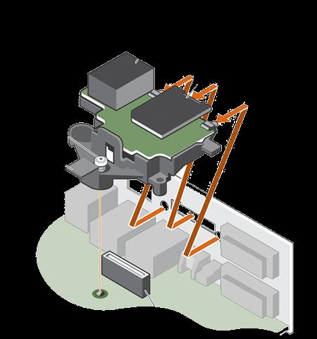 Grafica Scheda iDRAC da sostituire in un server Dell