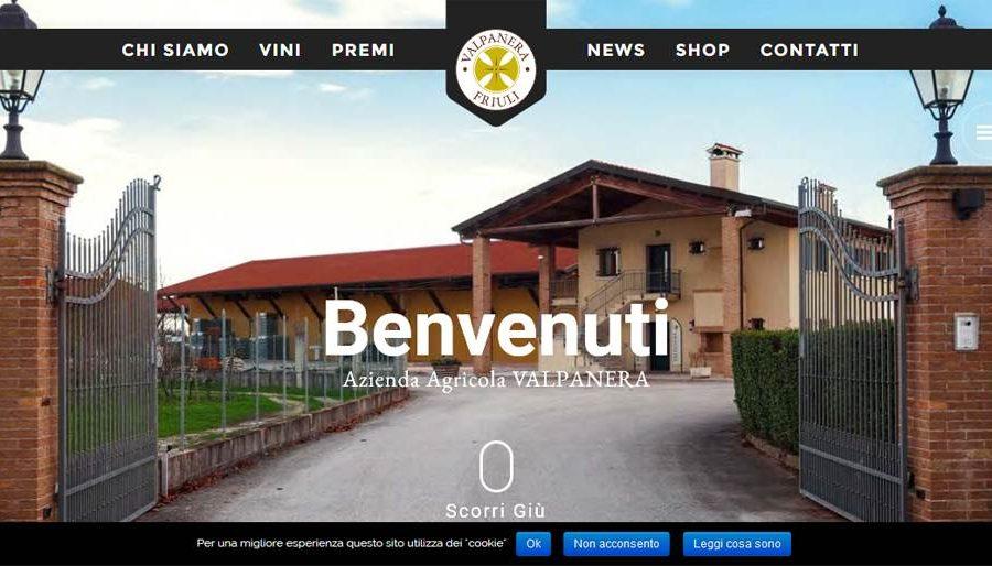 Sito internet vetrina per azienda vinicola