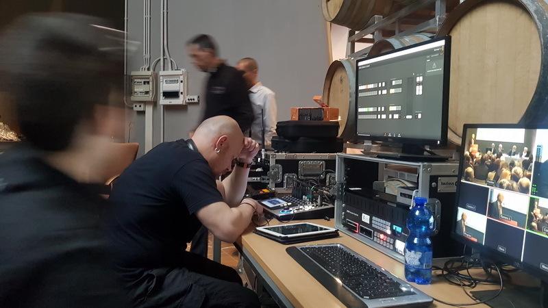 tecnico montatore video